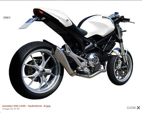 Auspuffanlagen Motorrad Ducati by Ducati 696 Auspuff Motorrad Bild Idee