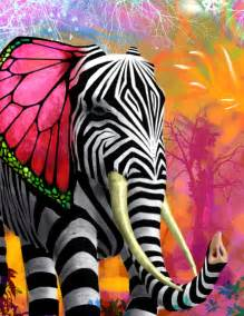 colorful animal paintings psychedelic by joecharley on deviantart