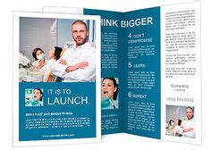 Dentist Office Brochure Template By Stocklayouts Dental Marketing Pinterest Brochure Assistant Brochure Templates