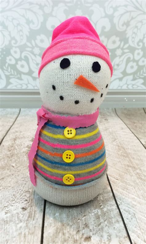 how to make sock snowman how to make a sock snowman the stitching scientist