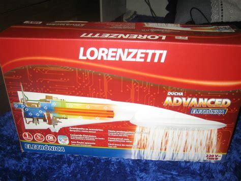 ducha advanced lorenzetti ducha advanced 220v 7500w eletronica lorenzetti r 125