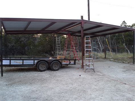 Lean To Car Port by Gabled Carport And Lean To Awning Wimberly