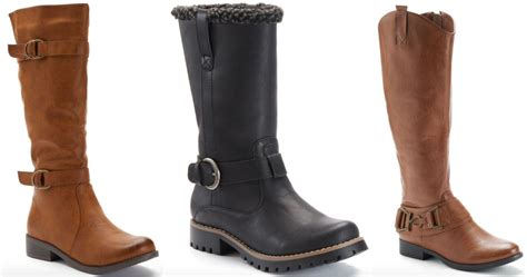 womens boots at kohl s 28 images black womens combat