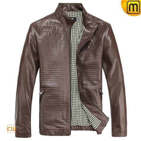 Jacket Design S Designer Brown Leather Jacket Cw812210