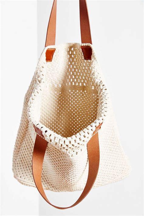 Macrame Bag Pattern - 25 best ideas about macrame bag on crochet
