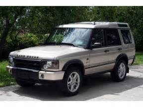 2003 land rover discovery information and photos