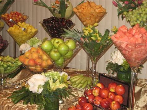 Fruit Table Decoration by Supplies Floor Furniture Rentals Los