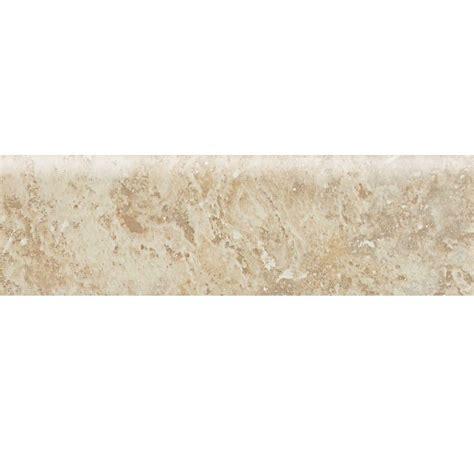 daltile heathland raffia 3 in x 12 in glazed ceramic bullnose floor and wall tile hl02p43c91p2