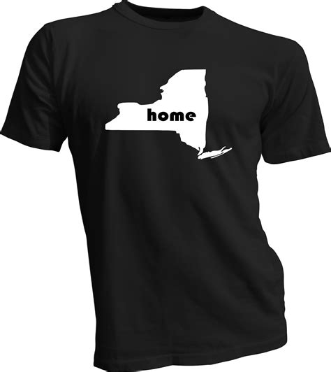 new york home t shirt