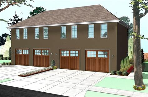 colonial garage plans colonial traditional garage plan 41112