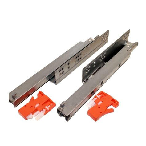 Installing Bottom Mount Drawer Slides by Liberty 22 In Self Closing Bottom Mount Drawer Slide 1 Pair D68822c W Ts The Home Depot