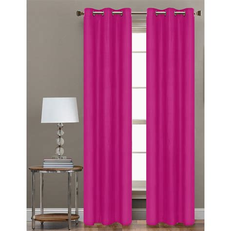 hp drapes cathay home 84 in l polyester form blackout grommet