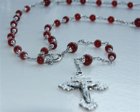 rosary pics wire wrap gemstone rosaries for sale catholic of thule
