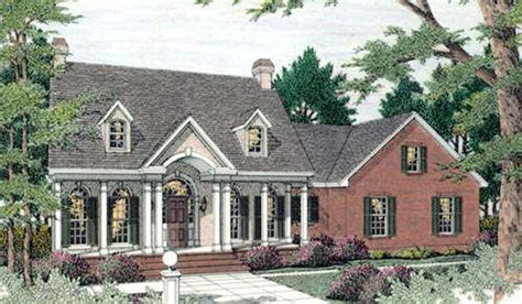 Southern Style House Plans 2197 Square Foot Home 1 Southern House Plans With Garage