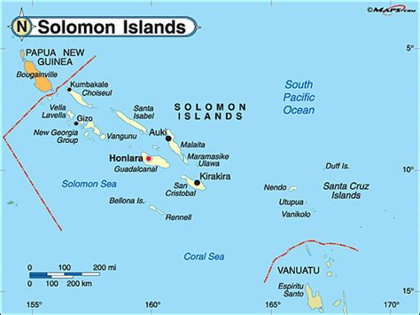 solomon islands map solomon islands political map by maps from maps world s largest map store