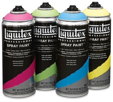 liquitex professional spray paint blick materials