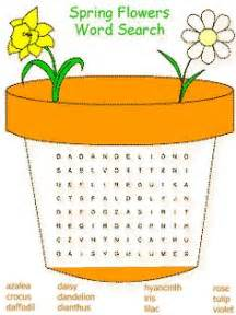 Kids worksheets on pinterest word search color by