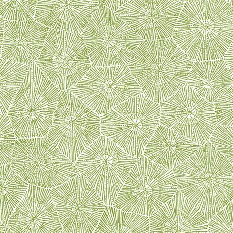 white pattern cloth petoskey stone pattern moss green on white fabric