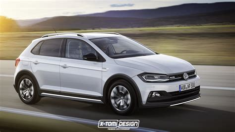 volkswagen sedan 2018 2018 volkswagen polo alltrack sedan and variant rendered