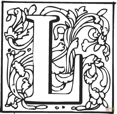 color with l free printable letter l coloring pages coloring home