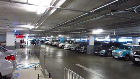 parking garage the cars multi level parking garage cars car park parking lot