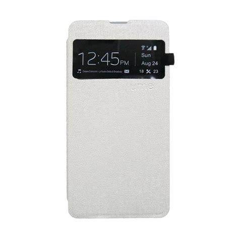 Ume Flip Cover Samsung Galaxy J3 jual ume lc book flip cover casing for samsung galaxy v putih harga kualitas