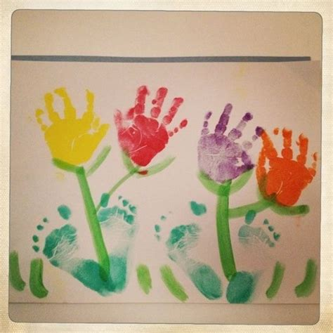 spring projects flower art activities for toddlers google search april