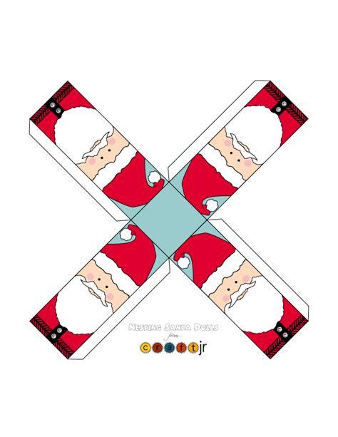 Large Craft Paper - santa paper craft xlarge woo jr activities