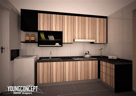 Small Kitchen Island With Sink 50 malaysian kitchen designs and ideas recommend living