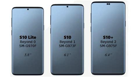 samsung galaxy s10 screen sizes leak galaxy s10 lite emerges with flat screen design