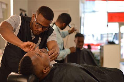 barber s dre royal razor barbershop baltimore multicultural