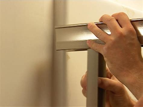 Shower Door Frame Kit How To Install A Shower Door On A Prefab Shower How Tos Diy