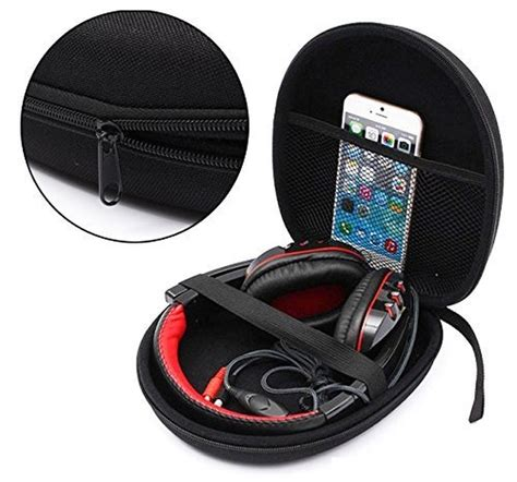 Headphone Universal Storage Pouch Bag Headphon Limited portable headphone earphone headset carry pouch for sony mdr v55 zx300 zx200 nc8 ath m50