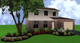 landscape design pictures front of house plan pdf