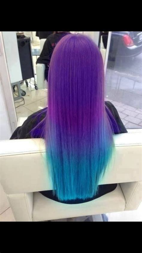 how to dye your hair neon purple 10 steps with pictures bright purple and blue hair beauty pinterest