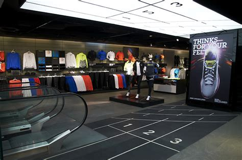 sports shoes stores sports store retail design shop interior sports