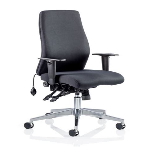 24 hour office chairs uk dynamic onyx office chair ivonyx04 ivonyx05 121 office