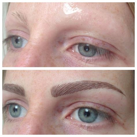 japanese tattoo eyebrow permanent brows restored due to alopecia permanent