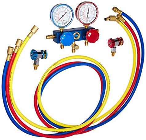 Manifold Robinair robinair 49134a r134 aluminum manifold hose set and service couplers buy in uae