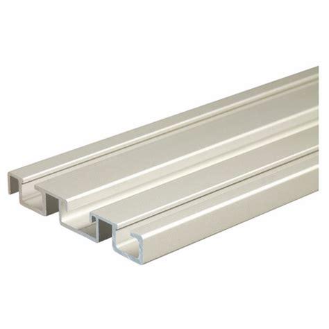 rail alu pour porte coulissante rail bas pour porte coulissante p300 19 seed bricozor