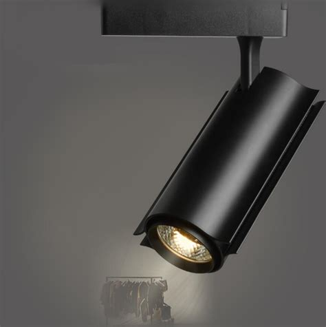 Lu Sorot Spot Track Rail Led 30w factory sale cob led track light 30w rail spot lighting