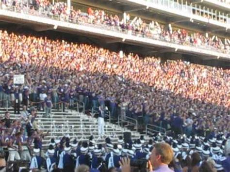 best college student sections kansas state student section one of the best in college