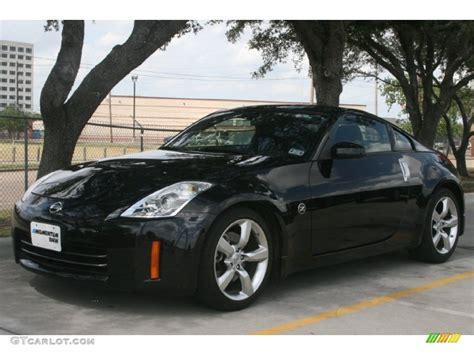 black nissan 2008 magnetic black 2008 nissan 350z coupe exterior photo