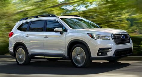 subaru suv price 2019 subaru ascent 7 seater suv priced from 31 995