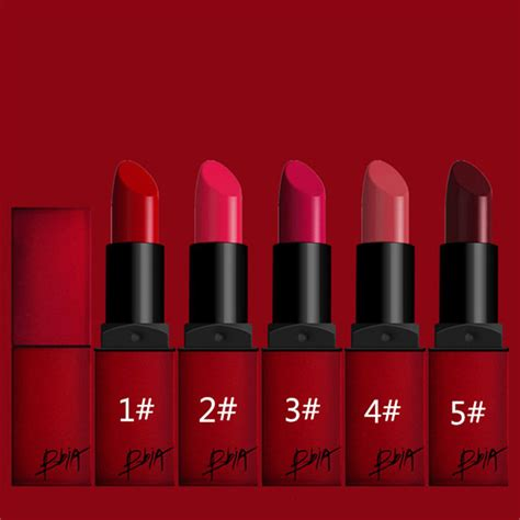 Lipstik Bbia korean cosmetics matte lipstick makeup brand bbia tint velvet lasting waterproof