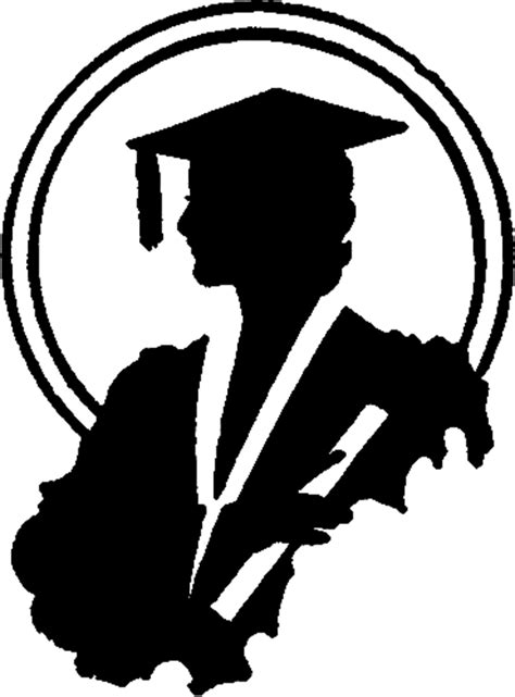 clipart graphics free graduation silhouette image the graphics