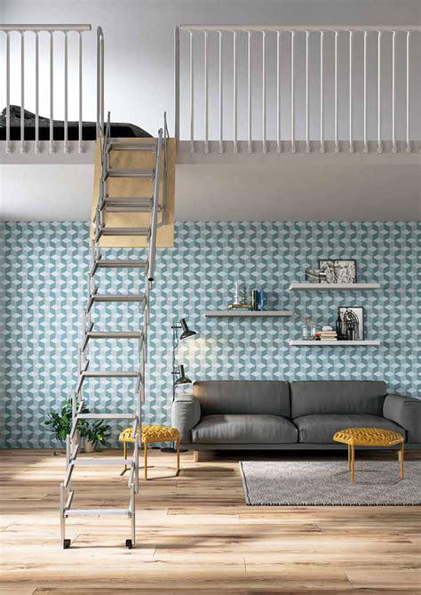 scale a scomparsa per soffitte scale retrattili per soppalchi