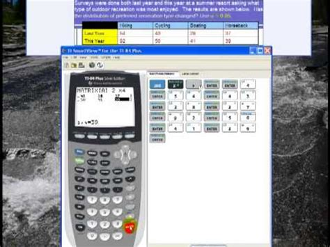 calculator x squared chi square independence test on ti 84 calculator