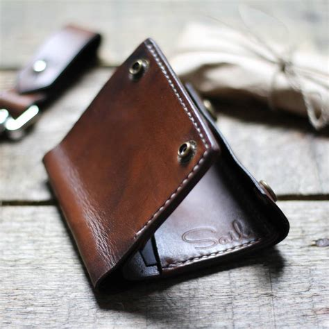 Handmade Mens Wallet - handmade mens leather wallet by sail notonthehighstreet