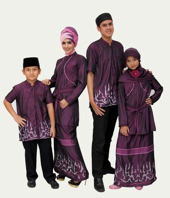 Baju Muslim Keluarga Dan Bayi 25 Model Baju Keluarga 2 Anak Modern 2018 Resmi